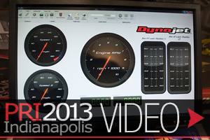 PRI 2013: New Dynojet DynoWare RT Dyno Electronics and Software