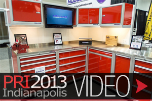 PRI 2013: Moduline Makes The Storage Solutions Gearheads Want
