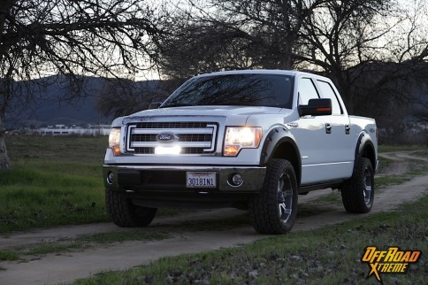 Rigid Industries Light Bar Install On Our 2013 F150 Project Truck