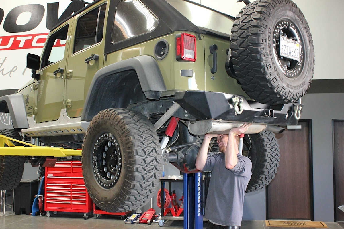 Gibson Exhaust Adds Power and Departure Angle to Sgt. Rocker Jeep