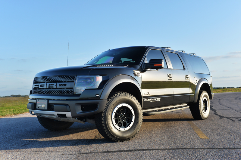 Video: Hennessey's VelociRaptor 600 SUV Is Awesome!