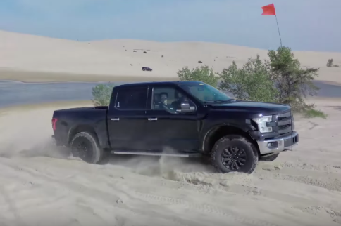 Video: Drone's View Of The 2017 Ford Raptor Testing Off-Road