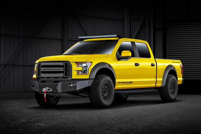 Video: Hennessey VelociRaptor 600 Readies For SEMA Appearance