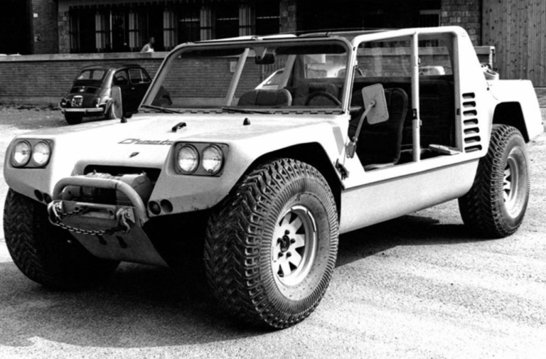 Video: The Lamborghini Cheetah Vied To Be The Humvee
