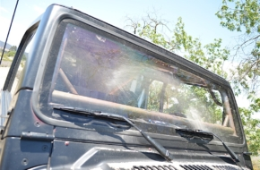 Seeing Clearly: Optic Armor Windshield Goes In Project Redneck