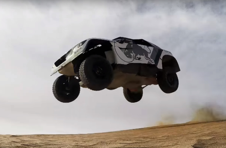 Video: Peugeot Is Attacking The Desert With Their New 3008 DKR