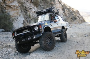 Navigating the Magellan GPS Sea to SEMA Expedition In A Toyota FJ60