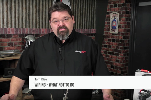 Video: Bad Wiring - What Not To Do With Holley Performance