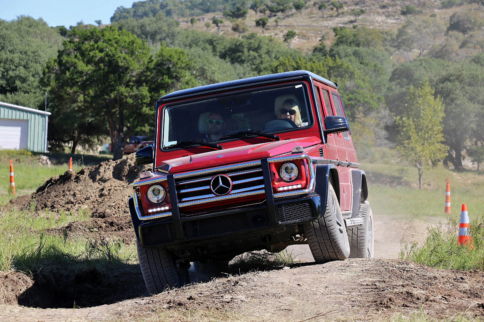 Thinking Inside the Box: A Week With The 2017 Mercedes-Benz G550