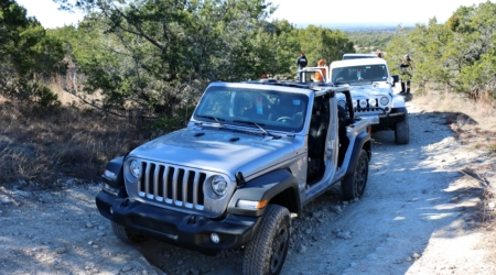 2018 JL Jeep Wrangler Does The Polar Bear Run With Austin JeepPeople