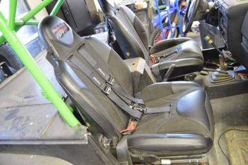 Take Your Seats: Mastercraft Safety Baja RS Seats On Project Redneck