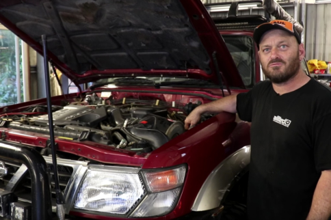 Video: The Skid Factory Does TD42 Swap On Nissan Patrol