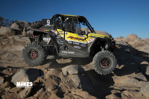 UTV Torch Gets Passed At King Of The Hammers
