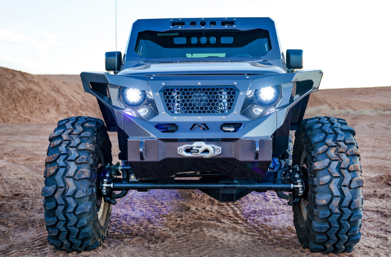 Fab Fours and MarsFab Build a Custom Lifted Wrangler JL