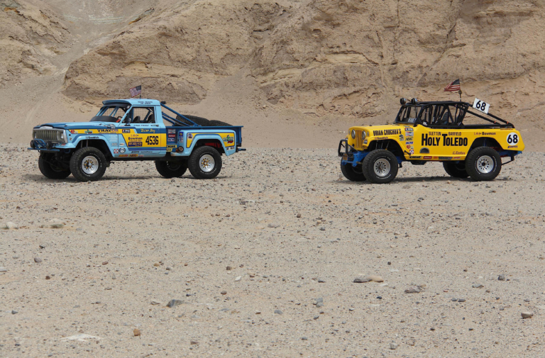 A Perfect Pair: Dennis Sletten's Vintage Racing Jeeps